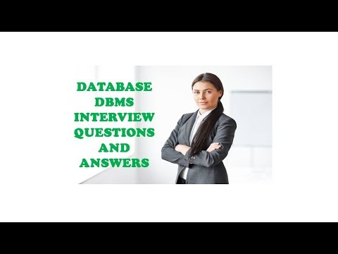 DATABASE DBMS INTERVIEW QUESTIONS AND ANSWERS
