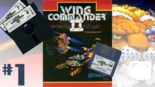 Wing Commander II: Vengeance of the Kilrathi (1991, PC-DOS) 1/5