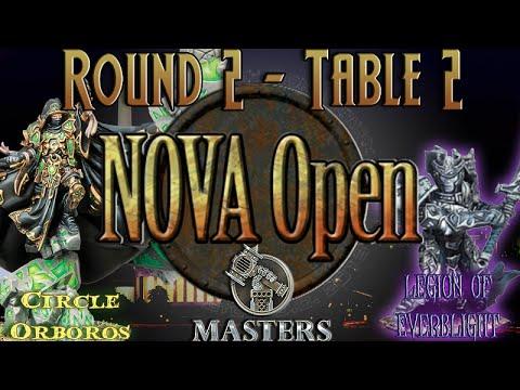 NoVA Open 2015 Masters Round 2 - Table 2 - Circle Orboros (Bradigus) vs. Legion (Kallus)