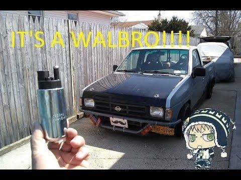 Nissan Hardbody Fuel Pump Replacement - YouTube