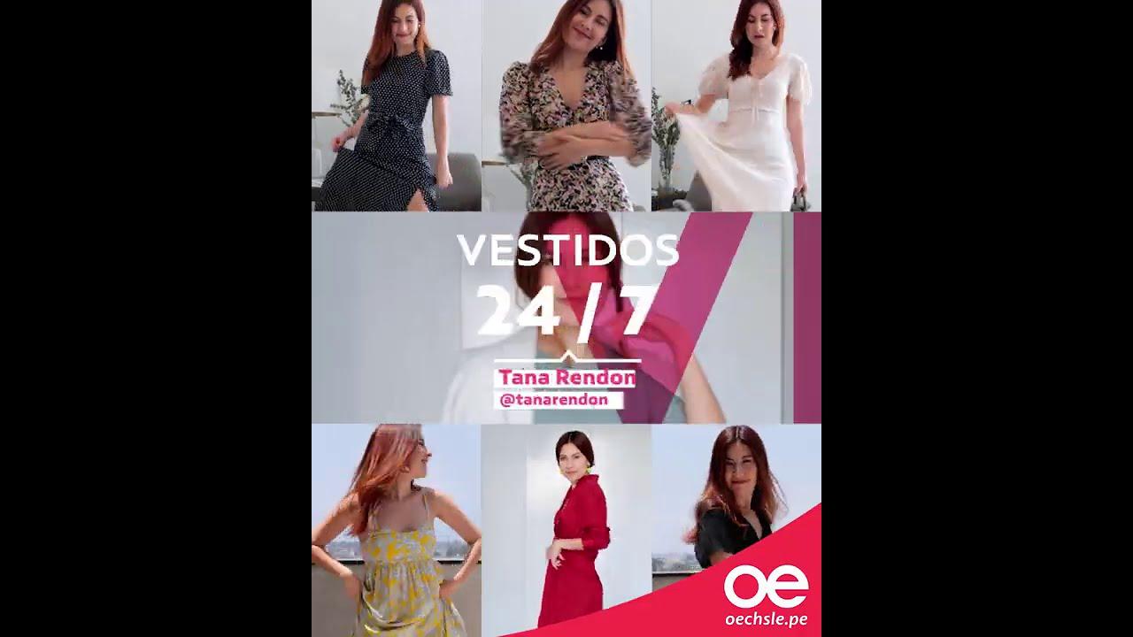 Temporada de #VESTIDOS en Oechsle! Junto a @Tana Rendón - Le Coquelicot