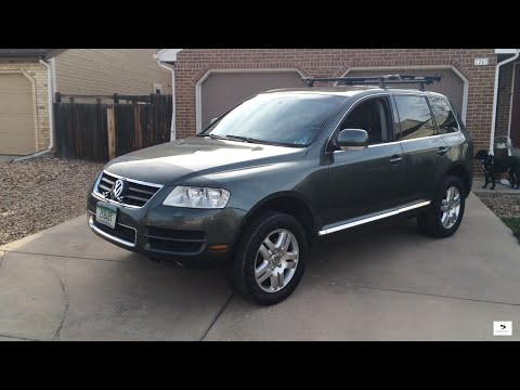 2004 Volkswagen Touareg V8 (Start Up, In Depth Tour, and Review)