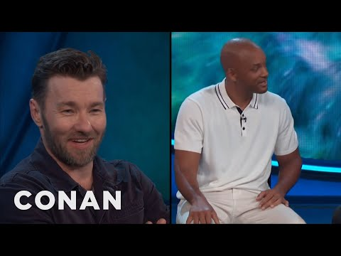 Joel Edgerton: People Never Stop Screaming For Will Smith   CONAN on TBS