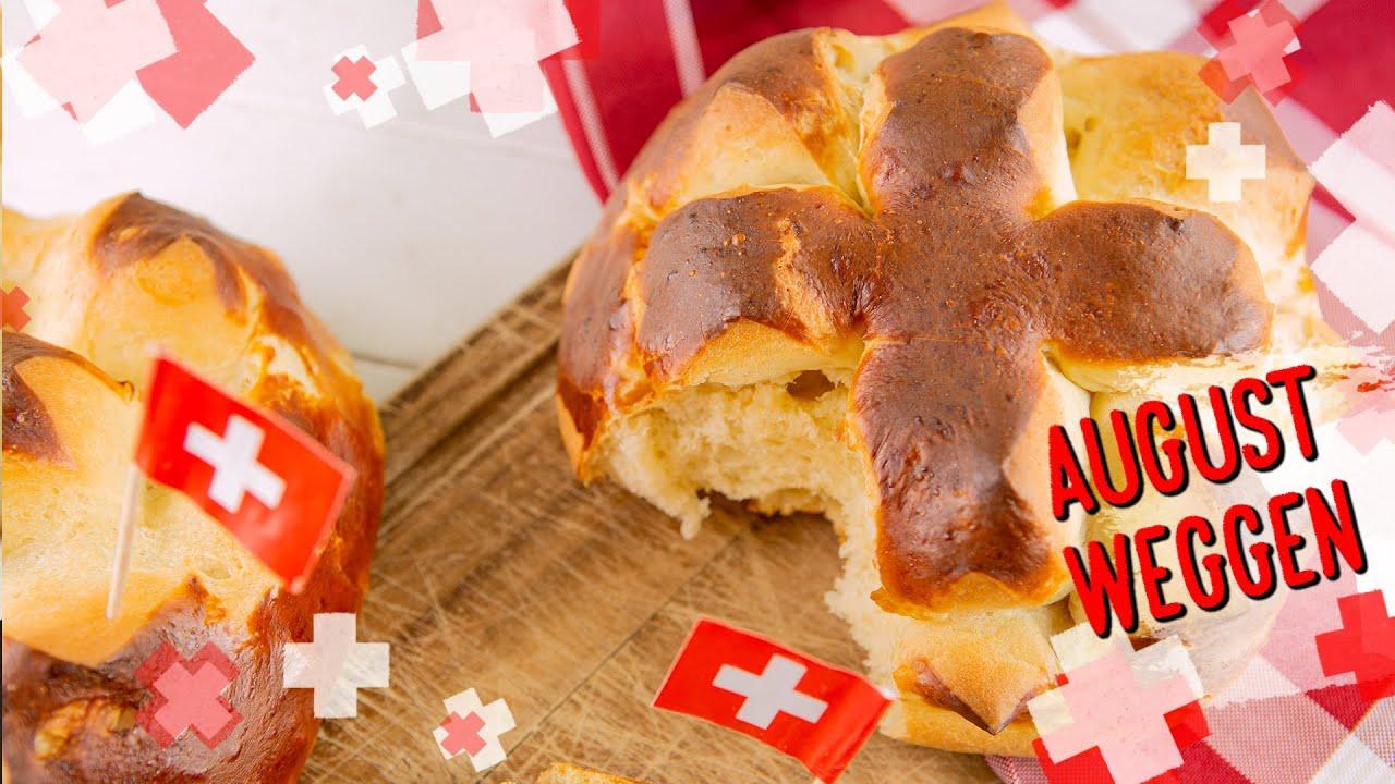 Laugen 1. August-Weggen - zum Schweizer Nationalfeiertag, lecker und einfach gemacht