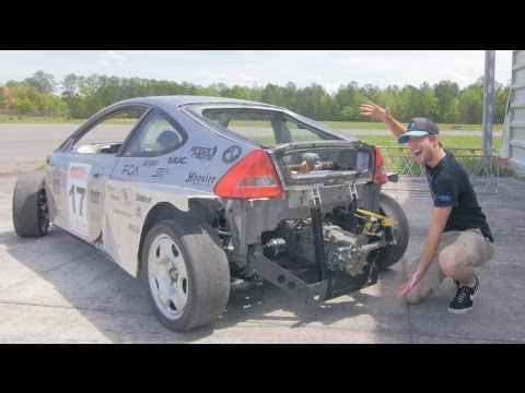 Subaru SVX Swapped Honda Insight Review! - The Scariest Honda Insight Ever