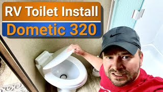 How NOT to install an RV toilet 🤣 | Dometic 320