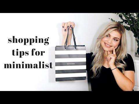 HOW TO SHOP LIKE A MINIMALIST | Alice