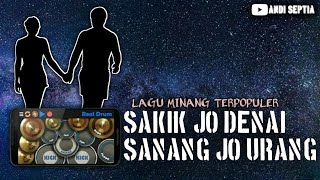 Download Mp3 Sakik Jo Denai Sanang Jo Urang-atikah Edelweis | Cover Real Drum