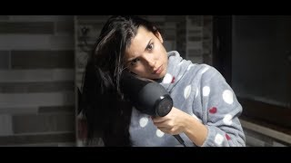 HAIR DRYER with a BEAUTIFUL GIRL - ASMR GIRLS