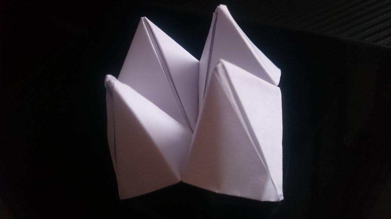 Piekło-niebo z papieru -jak zrobić-(Paper Fortune Teller ... - photo#20