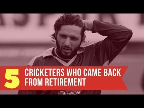 Top 5 Cricketers Who Returned After Retirement - Simbly Chumma