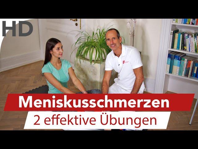 Meniskus Schmerzen //  2 Übungen bei Knieschmerzen und Schmerzen im Meniskus