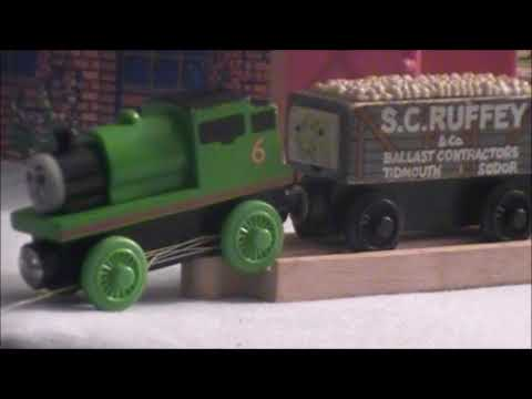 Percy Takes The Plunge Wooden Railway Remake