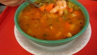 Shrimp And Fish Soup - Caldo De Pescado Y Camaron (mex Style)