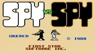 Spy vs. Spy - NES Gameplay