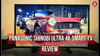 Panasonic Shinobi Ultra 49-inch 4K Smart TV Review | Digit.in