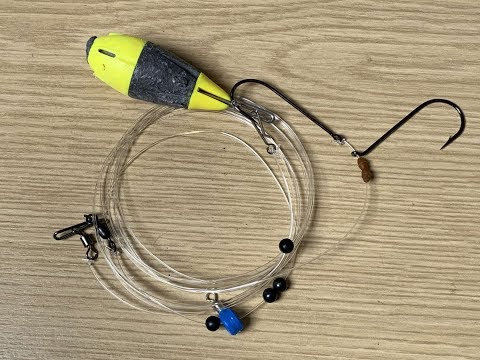 Drop Down Pulley Pennel Sea Fishing Rig - Tips & Construction. Rays, Smooth Hound Etc.