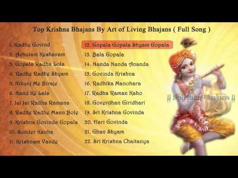 Krishna bhajans lyrics in english