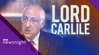 Lord Carlile on Prevent: 'Everything is up for discussion including scrapping it'- BBC Newsnight