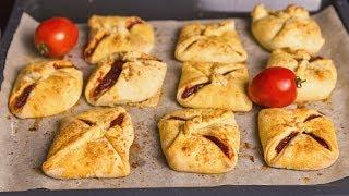 Пирожки с томатным джемом | Десерт из помидоров | АСМР |  Рецепт