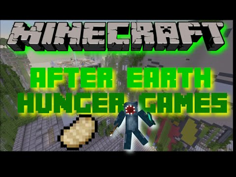 Minecraft- After Earth Hunger Games! PS3, PS4 Gameplay!