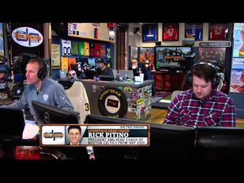 Rick Pitino on the Dan Patrick Show (Full Interview) 3/18/15