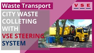 Inner City waste collection with VSE steering trailer