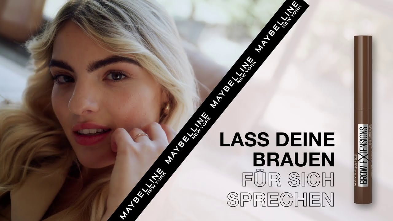 MAYBELLINE BROW SQUAD - Entdecke die neue Brow Ultra Slim Fiber Pomade mit Sarah Almoril