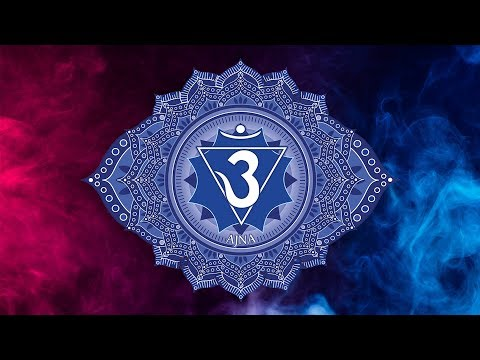 THIRD EYE CHAKRA OPENING MEDITATION MUSIC, Raise Intuitive Power Activate Ajna Positive Energy Vibes