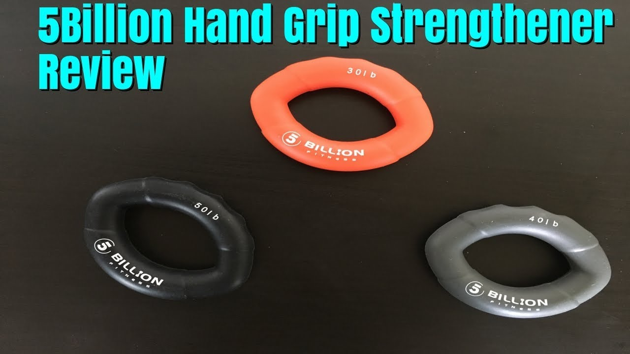 Best Grip Strengthener Review 5billion Fitness For Forearm Wrist And Hand Strength