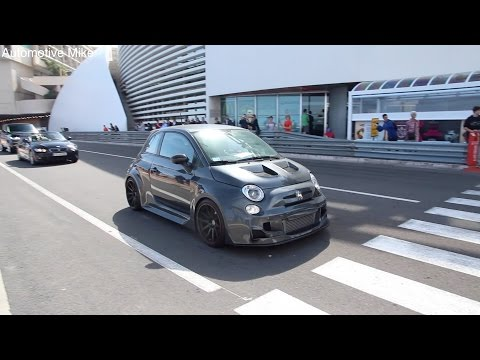 Extreme Fiat 500 Abarth: 300hp Cinquone Stradale