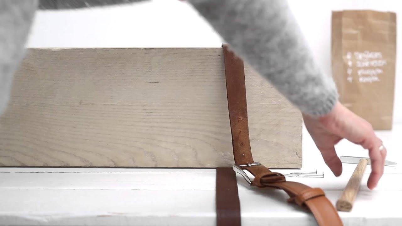 Ongekend Zelfmaak - Boekenplank maken - YouTube JA-36