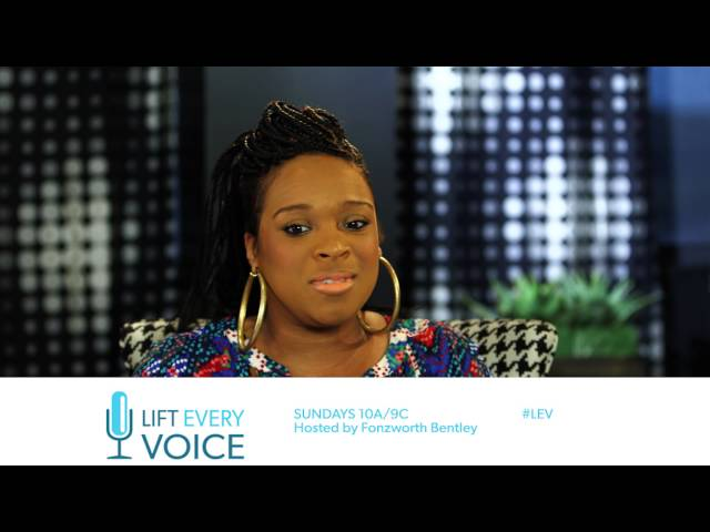 Kierra Sheard on BET's Lift Every Voice