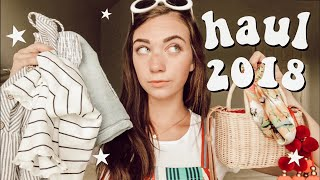 an update haul 2018 | from summer clothes to accessories and more! | Chloe Cray