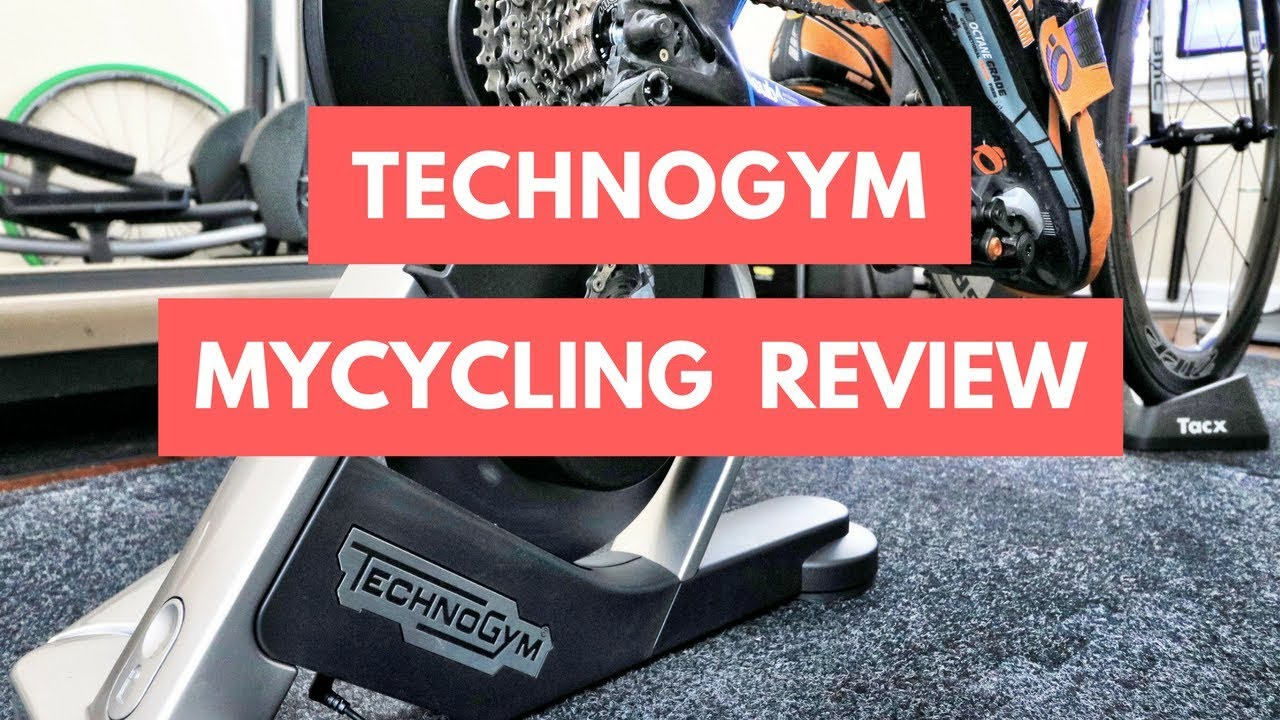 5b1905c76a9 TechnoGym MyCycling Smart Indoor Bike Trainer Hands-On Review | SMART Bike  Trainers