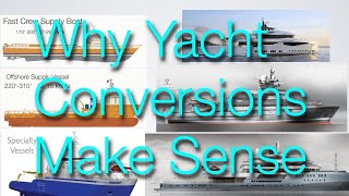 Paul Madden digs into why  converting a commercial ship into an expedition yacht makes sense.