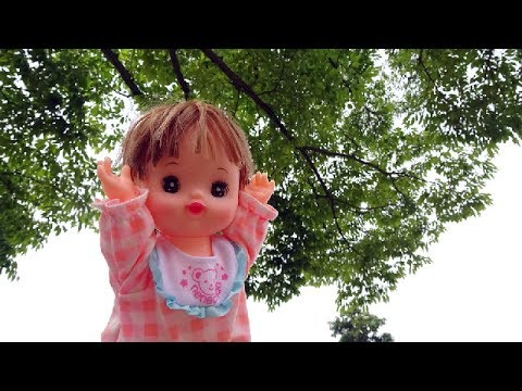 Baby doll park debut ☆ First time outside play toy☆Disney Winnie-the-Pooh,Peppa Pig