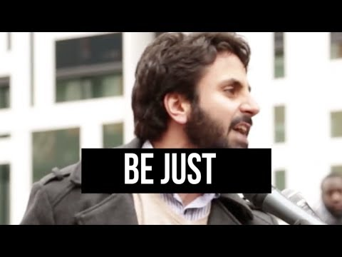 Stand for Justice [POWERFUL] - Hamza Tzortzis | #RELEASEMOAZZAM