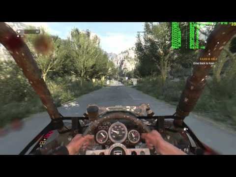 R9 380 - MAX SETTINGS - Dying Light - The Following