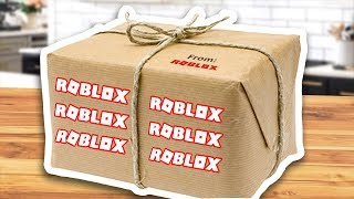 ROBLOX SENT THE CREW HOUSE A MYSTERY PACKAGE!!!