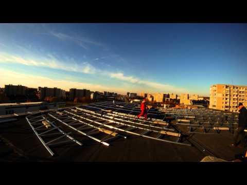 30kW Solar power plant installation