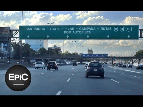 Autopista Panamericana / Panamericana (Highway) - Buenos Aires, Argentina (HD)