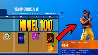 **SEASON 8** SKIN LEVEL 100! ALL PURCHASED! FORTNITE: Battle Royale
