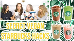 HOW TO ORDER VEGAN DRINKS AT STARBUCKS