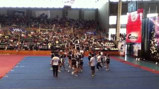 CSA Lady Cats 2012 - CheerChallenger, 2do Lugar.