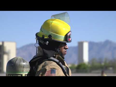 355th CES Fire Protection Services Training (B-roll) TUCSON, AZ, UNITED STATES 04.14.2020