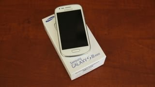 видео Samsung Galaxy S3 Mini Review!