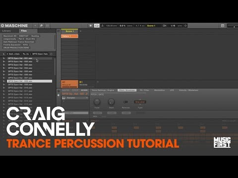 Craig Connelly - Trance Percussion Tutorial
