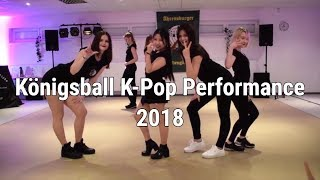 [BEST OF] K-Pop Performance @ Königsball  2018