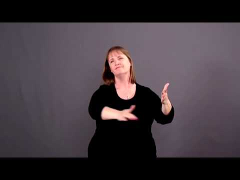 """""""Amazing Grace"""" (My Chains Are Gone)  in ASL & CC by Rock Church Deaf Ministry"""